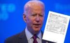 Présidentielle américaine : Biden publie ses feuilles d'impôts 2019  avant le débat avec Trump