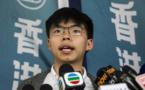 Hong Kong : le militant pro-démocratie Joshua Wong va plaider coupable