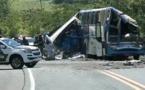 Brésil : une collision entre un camion et un autobus fait au moins 37 morts