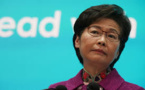 Carrie Lam, la dirigeante de Hong Kong, n'a plus de compte bancaire