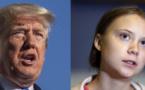 «Un vieil homme très heureux», Greta ironise sur le départ de Trump