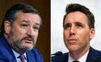 Attaque du Capitole : Sept sénateurs demandent une enquête sur Ted Cruz et Josh Hawley