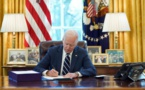 États-Unis : Joe Biden a signé le plan de relance de 1900 milliards de dollars