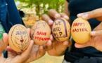 Birmanie : Les militants de la contestation dégainent des œufs de Pâques contre la junte