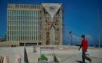 À Cuba, un gigantesque drapeau en béton défie l'ambassade américaine