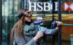 LONDRES: La banque HSBC prise pour cible par Extinction Rebellion