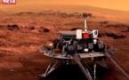 """ESPACE : La Chine réussit à poser son robot """"Zhurong"""" sur Mars"""