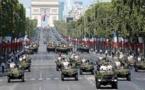 Le défilé militaire du 14 juillet de retour à Paris
