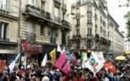 La gauche politique, associative et syndicale défile contre l'extrême droite