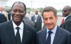 Le président Ouattara et son ami Sarkozy, ex-chef d'Etat français