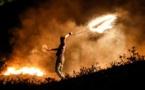 Frappes israéliennes sur Gaza, en riposte à des lancers de ballons incendiaires