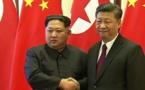 """Pyongyang et Pékin veulent renforcer leurs liens par une """"nouvelle phase"""""""