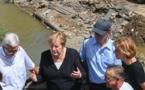 L'Allemagne dévastée : Angela Merkel a du mal à trouver ses mots face à la situation
