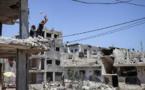 Israël bombarde Gaza en réponse à des lancers de ballons incendiaires
