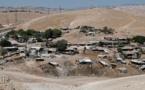Cisjordanie : La démolition d'un village palestinien repoussée de six mois