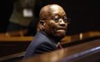 Afrique du Sud : la condamnation de Jacob Zuma à la prison confirmée en justice