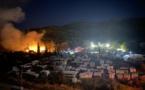 Grèce : incendie dans un camp de migrants sur l'île de Samos