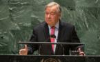 Face aux menaces et aux divisions, le monde doit se réveiller, affirme le chef de l'ONU