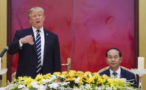 """Trump à Hanoï, Pyongyang dénonce une tournée """"va-t-en-guerre"""""""