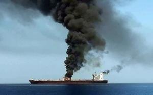 Deux pétroliers «attaqués» en mer d'Oman