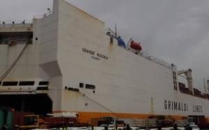 Les douaniers capturent 120 kilos de cocaïne à bord du «Grande Nigeria», navire récidiviste