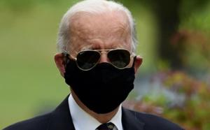 Etats-Unis : Joe Biden fait enfin une apparition publique, masqué