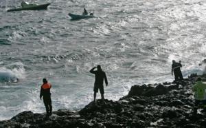 Canaries espagnoles: Quatre morts après le naufrage d'un bateau de migrants