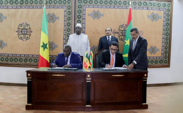 Mauritanie-Sénégal: accord sur l'exploitation d'un champ gazier offshore géant