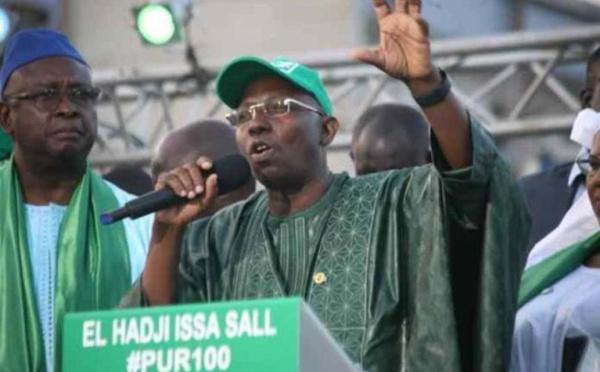 Saint-Louis : Issa Sall annonce « le retour de l'ajustement structurel, si Macky Sall est réélu »