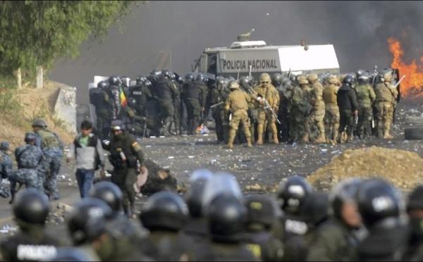 BOLIVIE : Au moins 17 morts, l'ONU alerte contre «un développement extrêmement dangereux»
