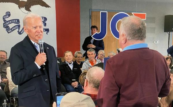 Biden s'emporte contre un électeur: «Tu es un satané menteur, mec»