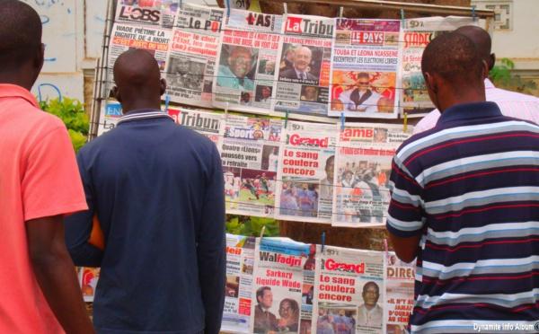 La revue de presse du week-end