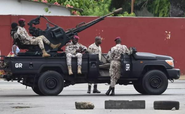 ABIDJAN : Une base militaire attaquée à Abobo, l'armée en état d'alerte contre des «actions subversives» sur l'ensemble du territoire