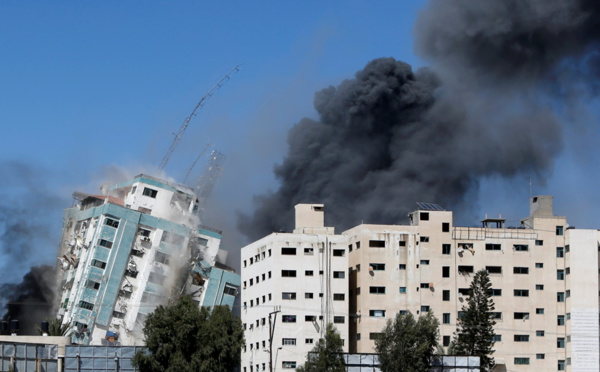 Israël détruit l'immeuble des médias à Gaza, Al Jazeera et Associated Press frappées