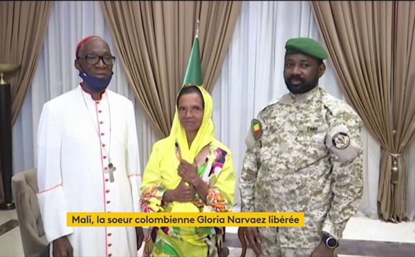 Mali : une religieuse colombienne enlevée en 2017 est libérée
